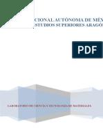 Manual de Prácticas de Laboratorio de Ciencia de Materiales