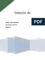 detector de metales con 555