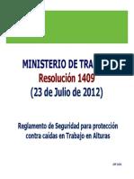 RES 1409 de 2012 de Alturas [Modo de Compatibilidad]