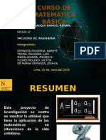 proyecto  de venta de postres - Matematica Basica Final