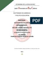 Murillo Ceseña Francisco Javier Monografia Economia de La Educacion