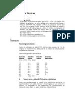 Accionamiento Ejemplo Especificaciones Técnicas