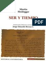 Heidegger, M. Ser y Tiempo