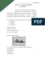 ENSAYO 8° Básico CIENCIAS