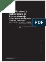 Paramilitarismo y Neoliberalismo en Barrancabermeja