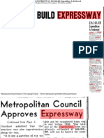 Metro approves lakeshore expressway