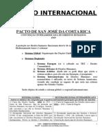 Pacto de San José Da Costa Rica - Intensivo III - 2009