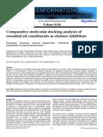 molecular docking comparative