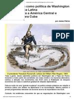 A Duplicidade Como Política de Washington Para a América Latina