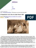 El feminismo en la obra de John Stuart Mill | Historiadores Histéricos