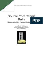 double core tennis balls