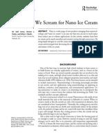 nano ice cream