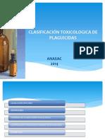 CLASIFICACIÒN TOXICOLOGICA PLAGUICIDAS