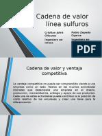 Cadena de Valor Linea de Sulfuro