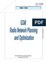 GSM Radio Network Planning and Optimization