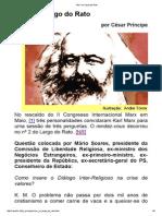 Marx No Largo Do Rato