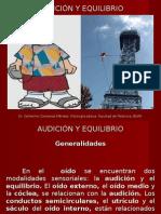 AUDICIÓN Y EQUILIBRIO