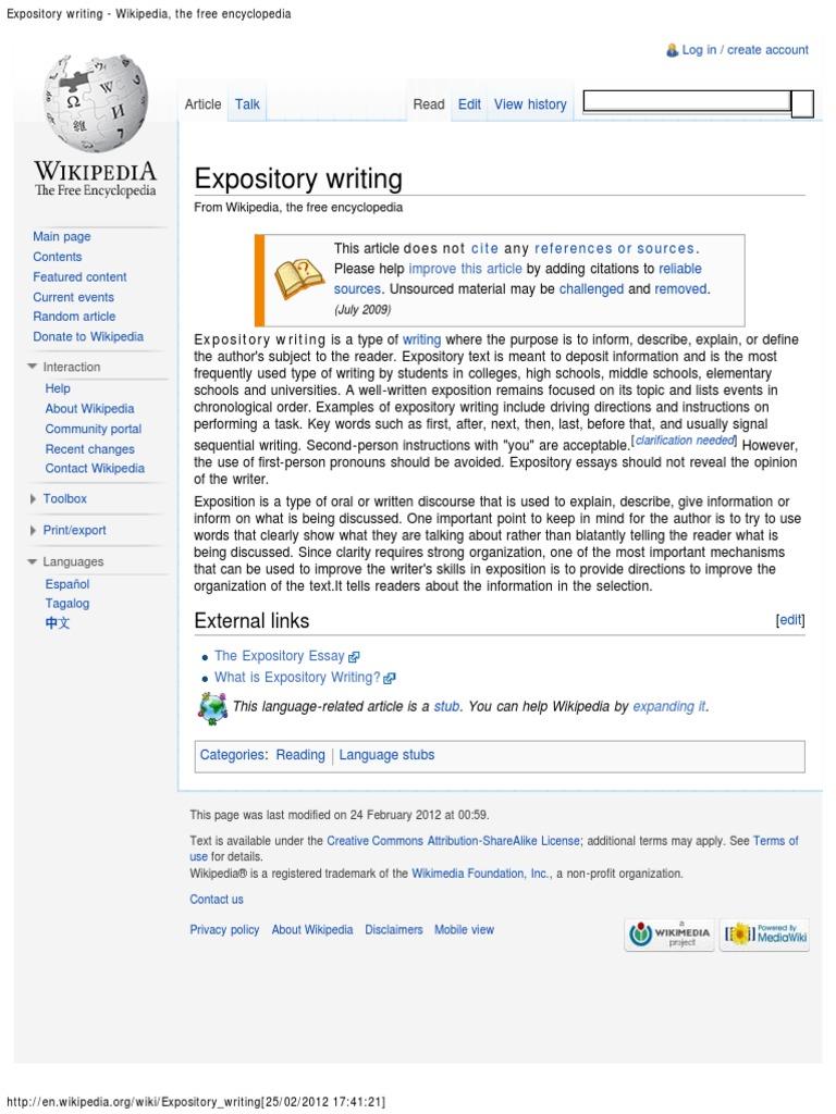 Rhetorical modes - Wikipedia