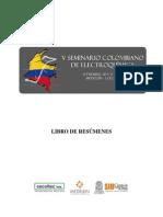 Memorias v Seminario Colombiano de Electroquimica