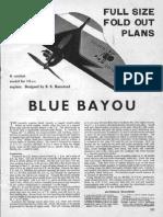 Blue Bayou Plane Plans