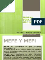 Matrices DAFO