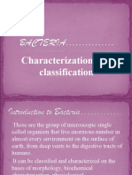 Classification and Chracterisation of Bacteria
