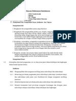 Rencana Pelaksanaan Pembelajaran Jamur