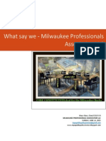 what say we - MPA LLC