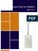 Diversity Access Point for WiMAX Product Brief