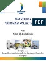 02._Bappenas-Arah Pembangunan Nasional 2014 (Sumatera)