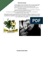 Concepto de Drogas Legales