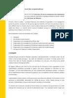 50 Ans de Management Des Organisations
