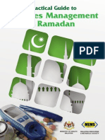 Practical Guide to Diabetes Management in Ramadhan
