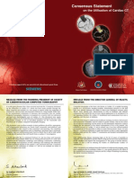Cardiac Consensus on Utilisation of Cardiac CT