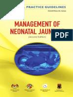 CPG Management of Neonatal Jaundice (Second Edition)