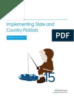 Implementation of Dependant Picklist in Salesforce