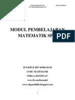 Modul Topikal Math-spm