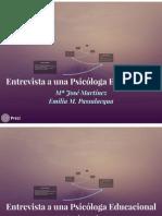 Entrevista psicólogo educacional