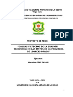 Proyecto Tesis Para Presentar