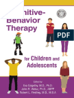 Cognitive-Behavior Therapy for Children and Adolescents