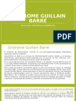 Síndrome Guillain Barré