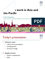 Women's Work in Asia and the Pacific by Sukti Dasgupta