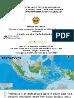 Maret Priyanta IUCNAEL2014 Presentation