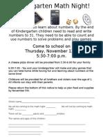 ep k math invite with response