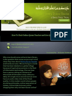 Online Quran Teacher and Live Quran Tutor