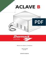 Autoclav Zetaclave Instructiuni de Folosire