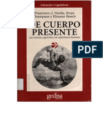 Francisco Varela de Cuerpo Presente 2ª Edicion