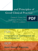 970409_History and Principles of Good Clinical Practice