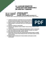Soal Ujian Mid Semester - Desain Multimedia - Xi Multimedia - Smk Kr. 1 Tomohon