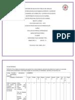 Instrumentos de Evaluacion, Segunda Jornada